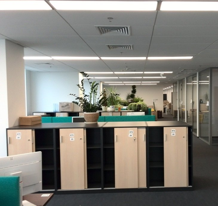 Rustler Property Services managed project of fit out works for new office Siemens Ukraine